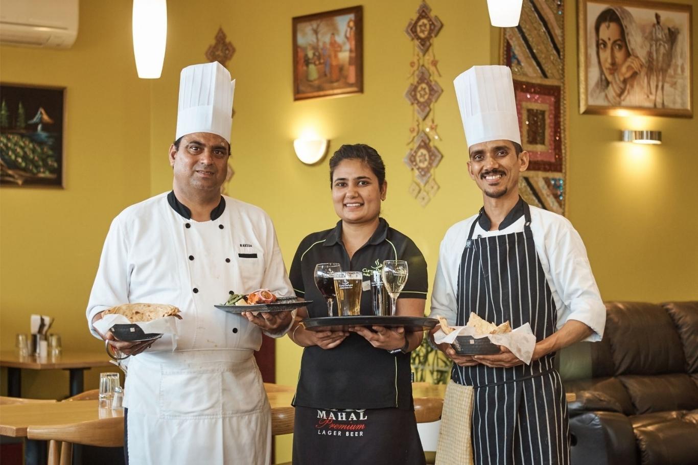 curry delight website development cloud media